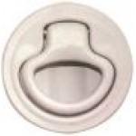 Gömme Kulp Yaylı Beyaz Çap:60 mm